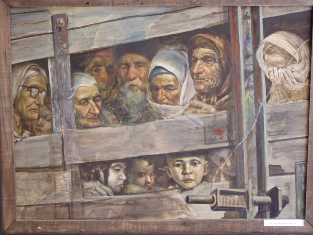 18 - 20 May 1944 Stalin accused Crimean Tatars in collaboration with nazi Germany